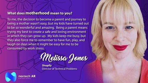 Melissa Jones Motherhood