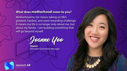 Joanne Yoo Motherhood