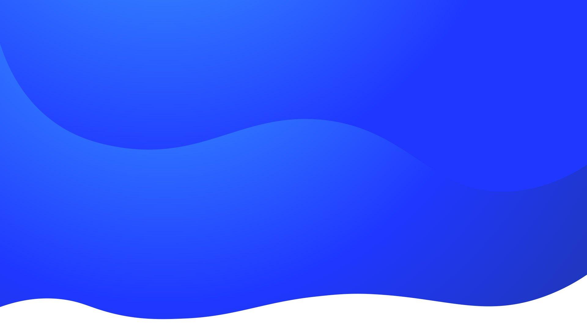 Blue Gradient Waves