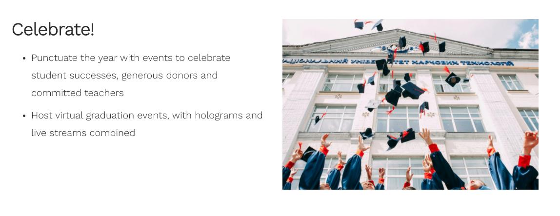 Virtual Graduation Events