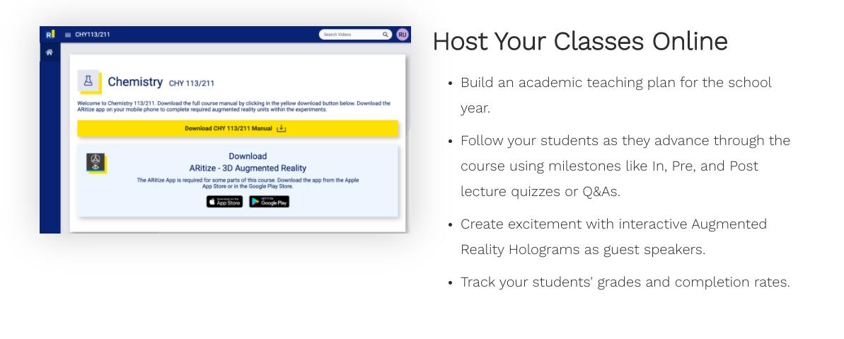 Host Your Classes Online