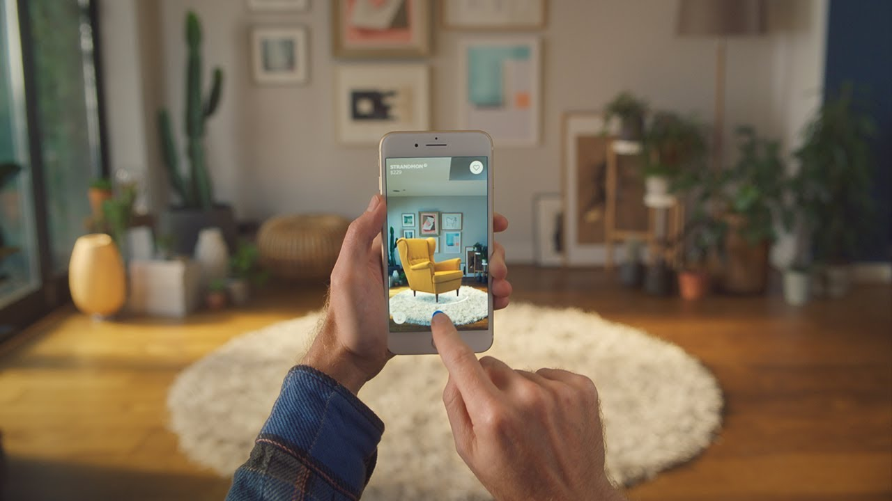 IKEA Place App: Augmented Reality Chair in Living Room