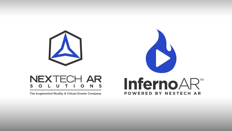 Nextech AR Solutions logo with Inferno AR logo