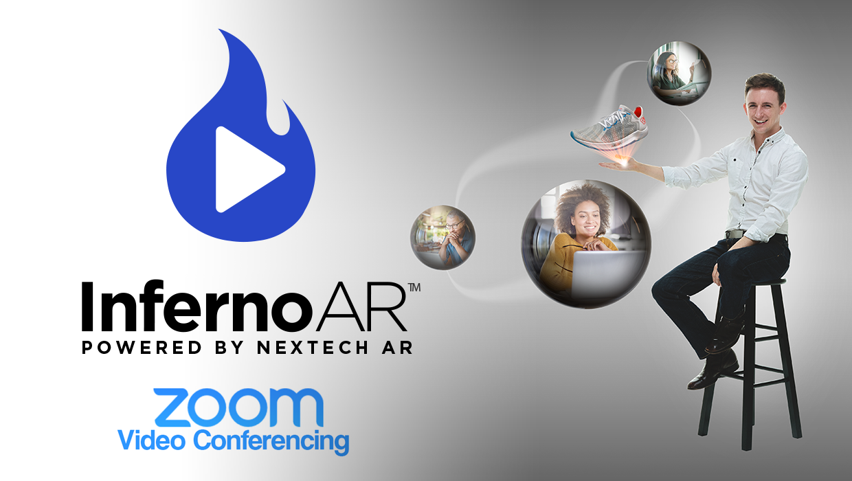 Inferno AR logo with Zoom video conferences logo