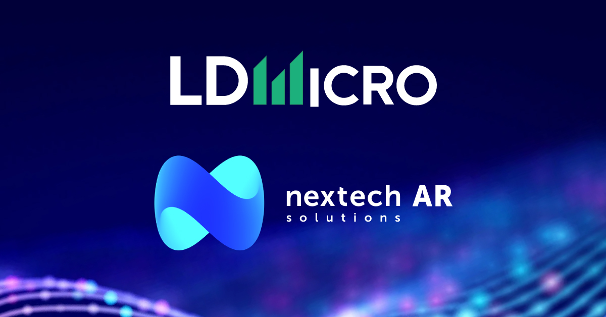Nextech AR Solutions to Present at LD Micro Invitational XI