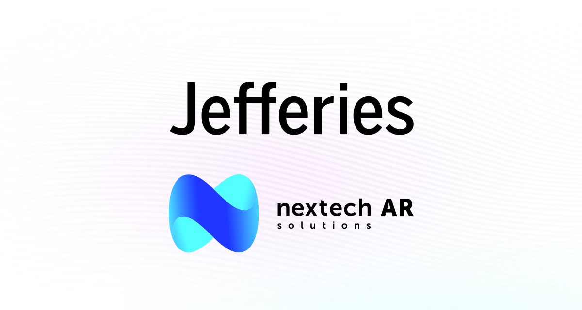 Nextech AR Solutions Invited to Present at Jefferies Software Conference September 14-15th, 2021