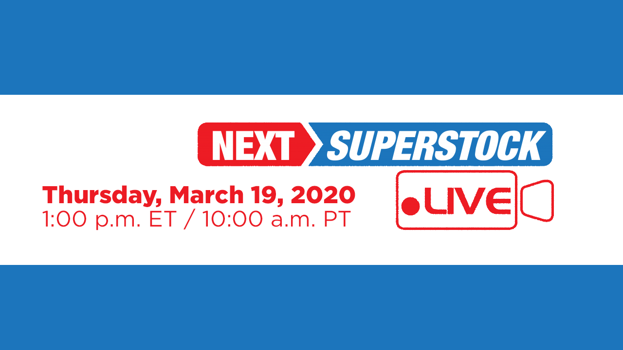 Next Superstock live