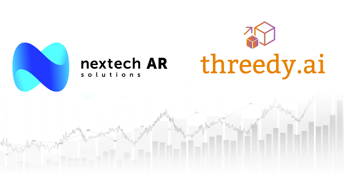 Nextech AR Solutions Corp. to Acquire Silicon Valley AI-Powered 3D Model Creation Company Threedy.ai Inc. for US$9,500,000
