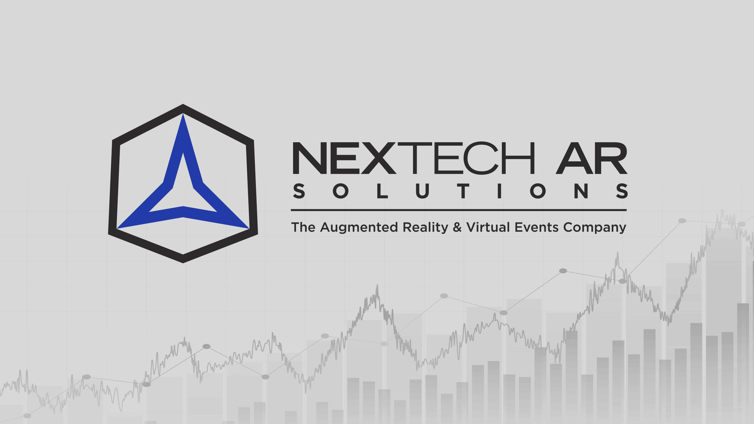 Nextech AR Solutions logo with chart